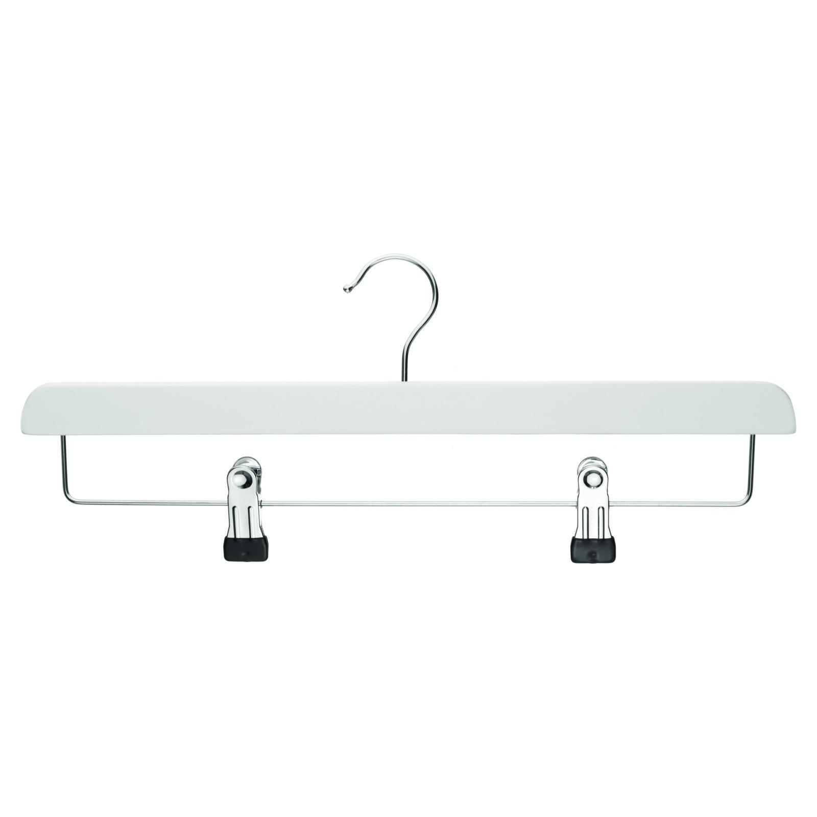 Klammerbügel 40 cm Metall Kleiderbügel Ladenausstattung Garderobe Hosen Bügel
