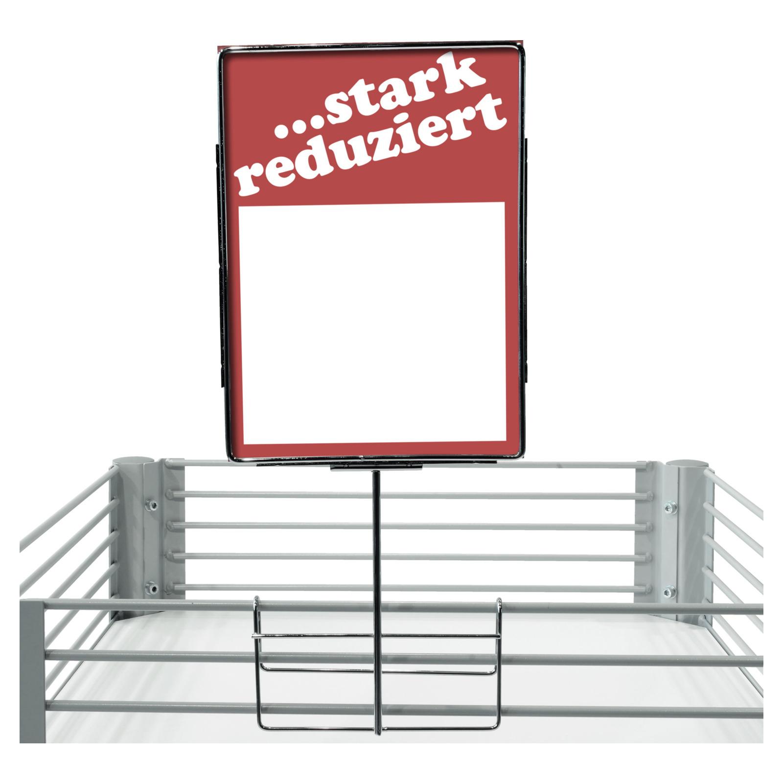Metall Plakatrahmen zum Aufstecken, verchromt - Plakatrahmen ...
