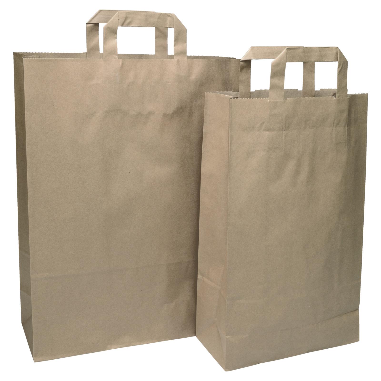 Papiertragetasche braun - Aktions-Artikel Specials