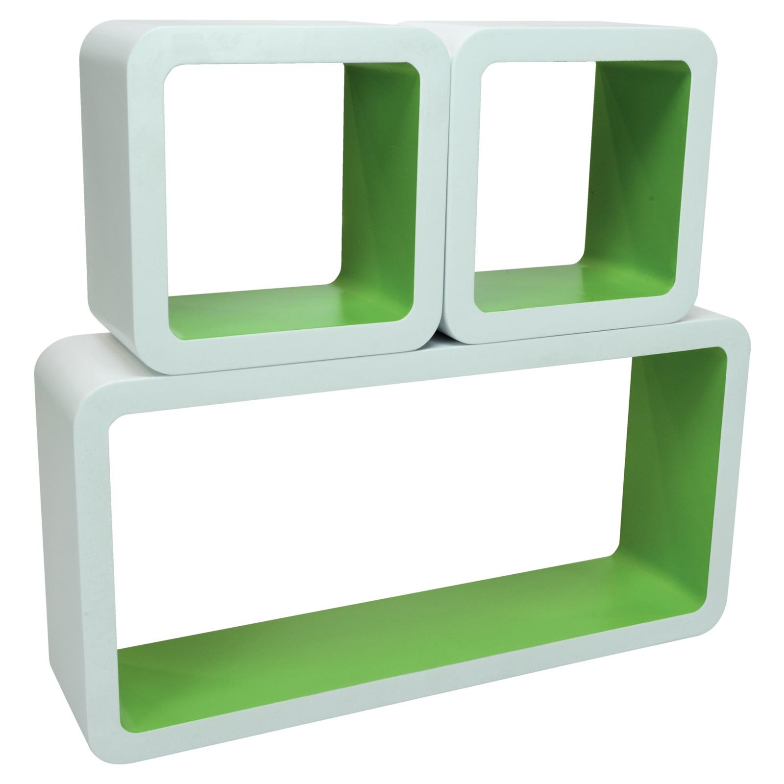 cubus set 3 teilig 2 farbig deko podeste cubus sets. Black Bedroom Furniture Sets. Home Design Ideas