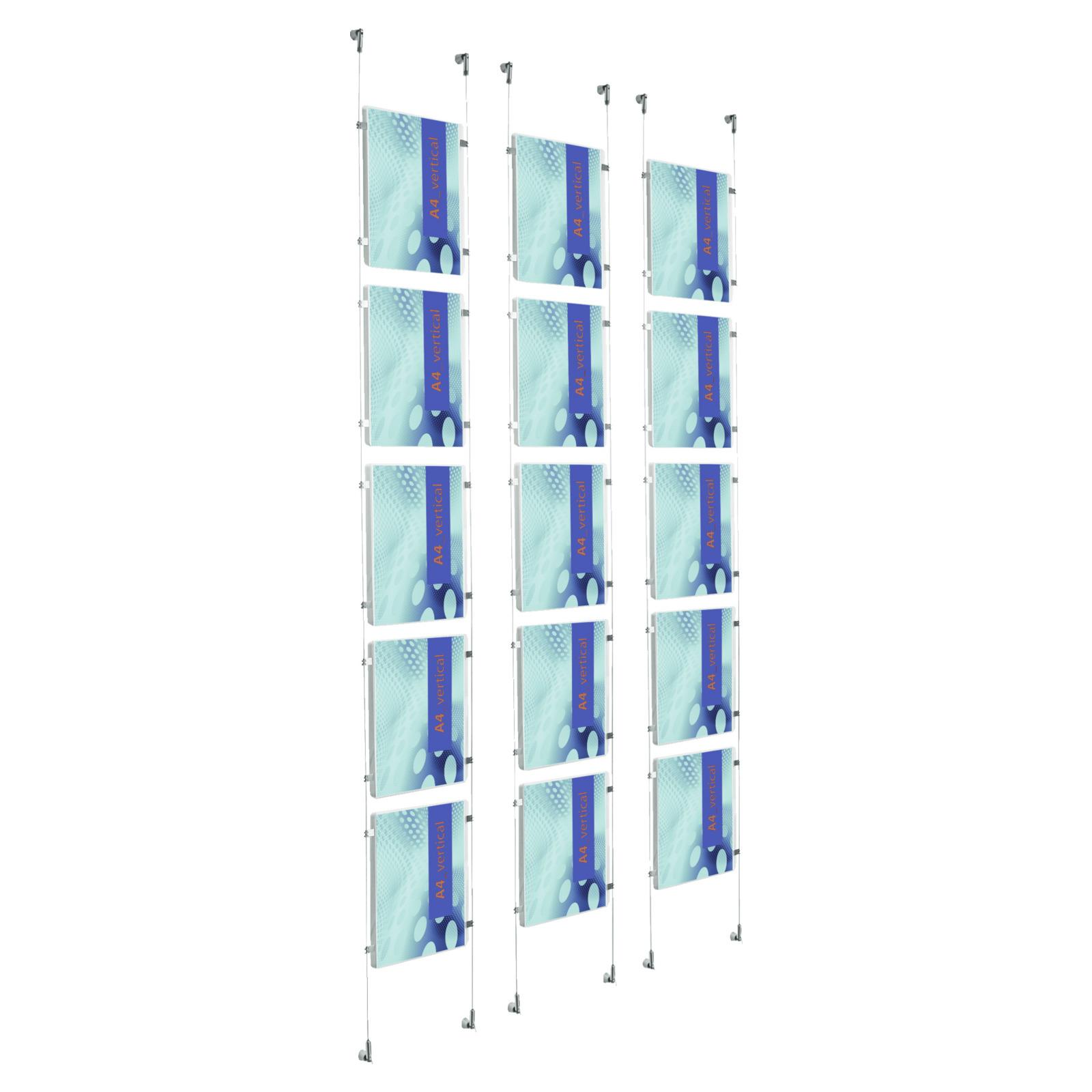 plakat seilsystem appendo 5 acryltaschen din a4 plakathalter infost nder prospektst nder. Black Bedroom Furniture Sets. Home Design Ideas