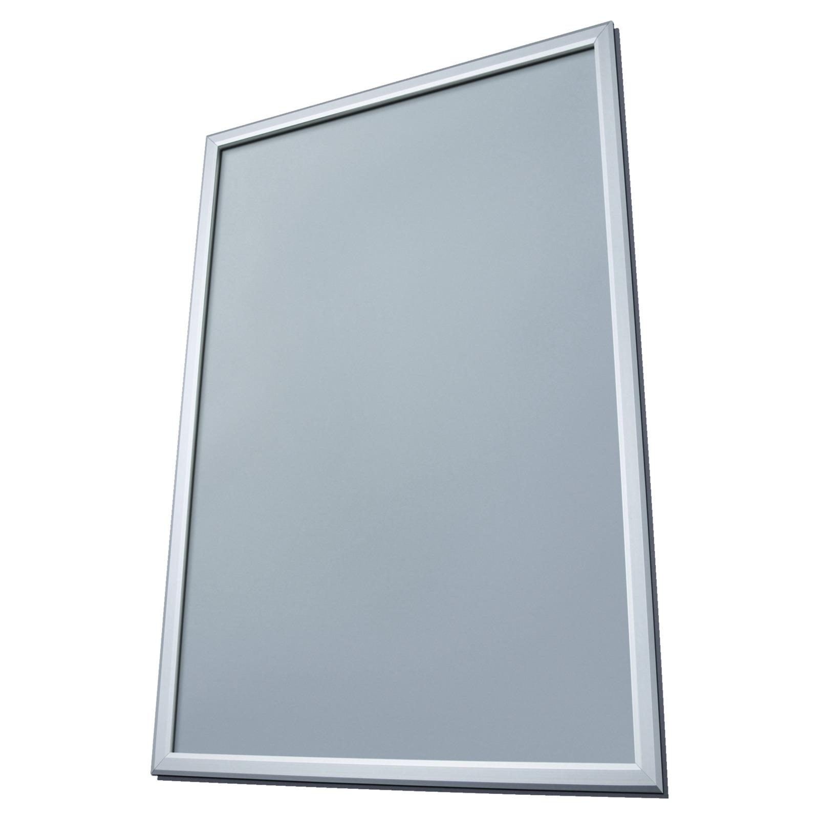 Fenster klapprahmen 25 mm rahmenprofil plakathalter for Fenster 70x100