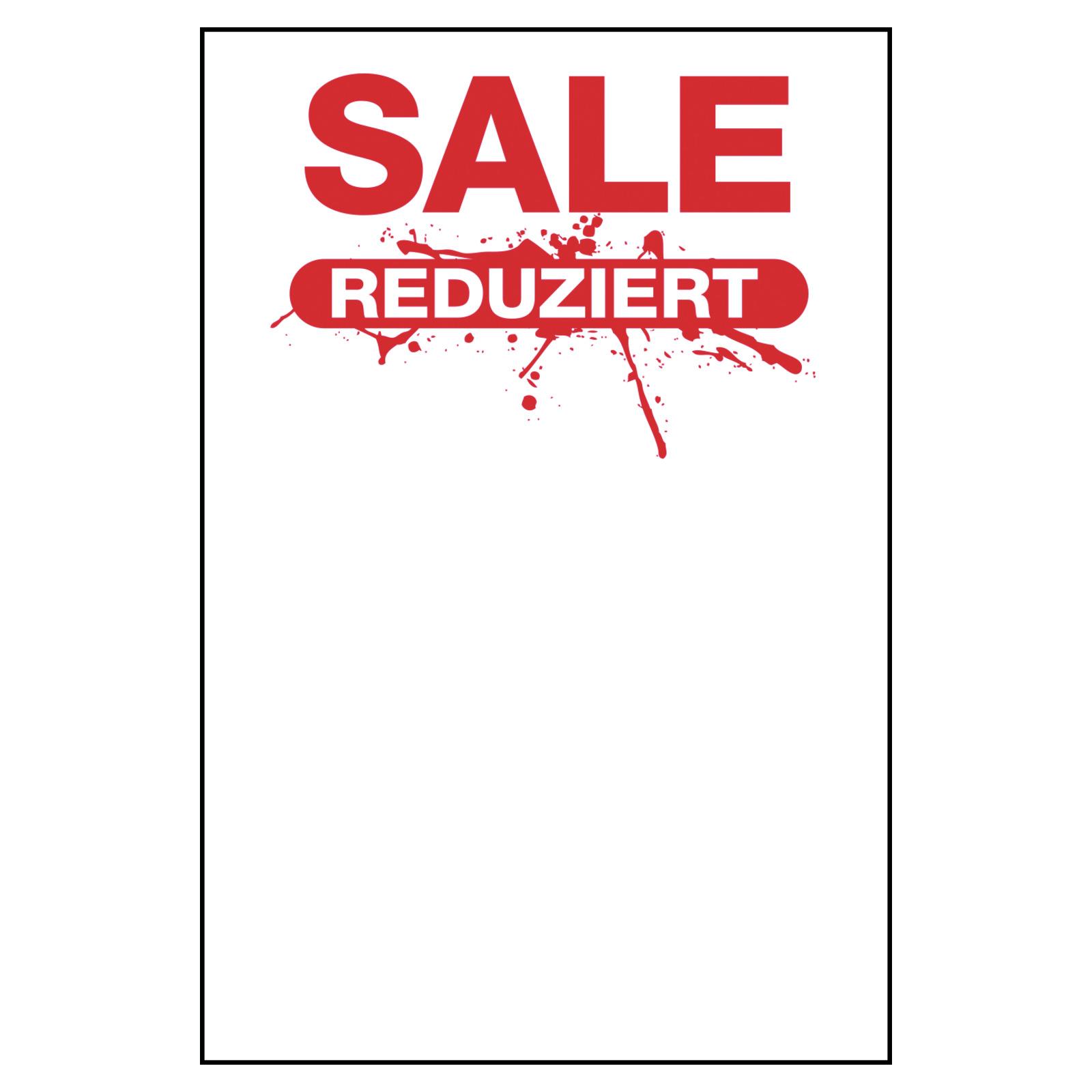 50 Preisschilder Splatch Sale Reduziert Preisschilder