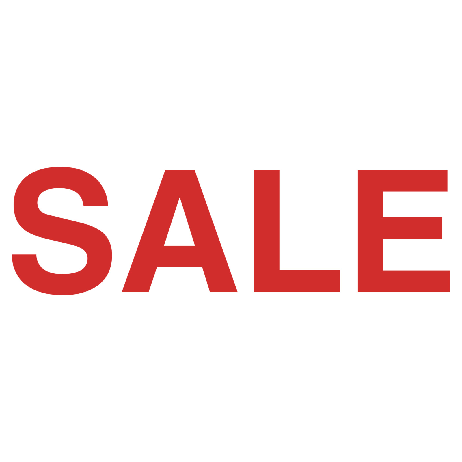 Schriftzug Sale Ankleber Reduziert Sale Aktions
