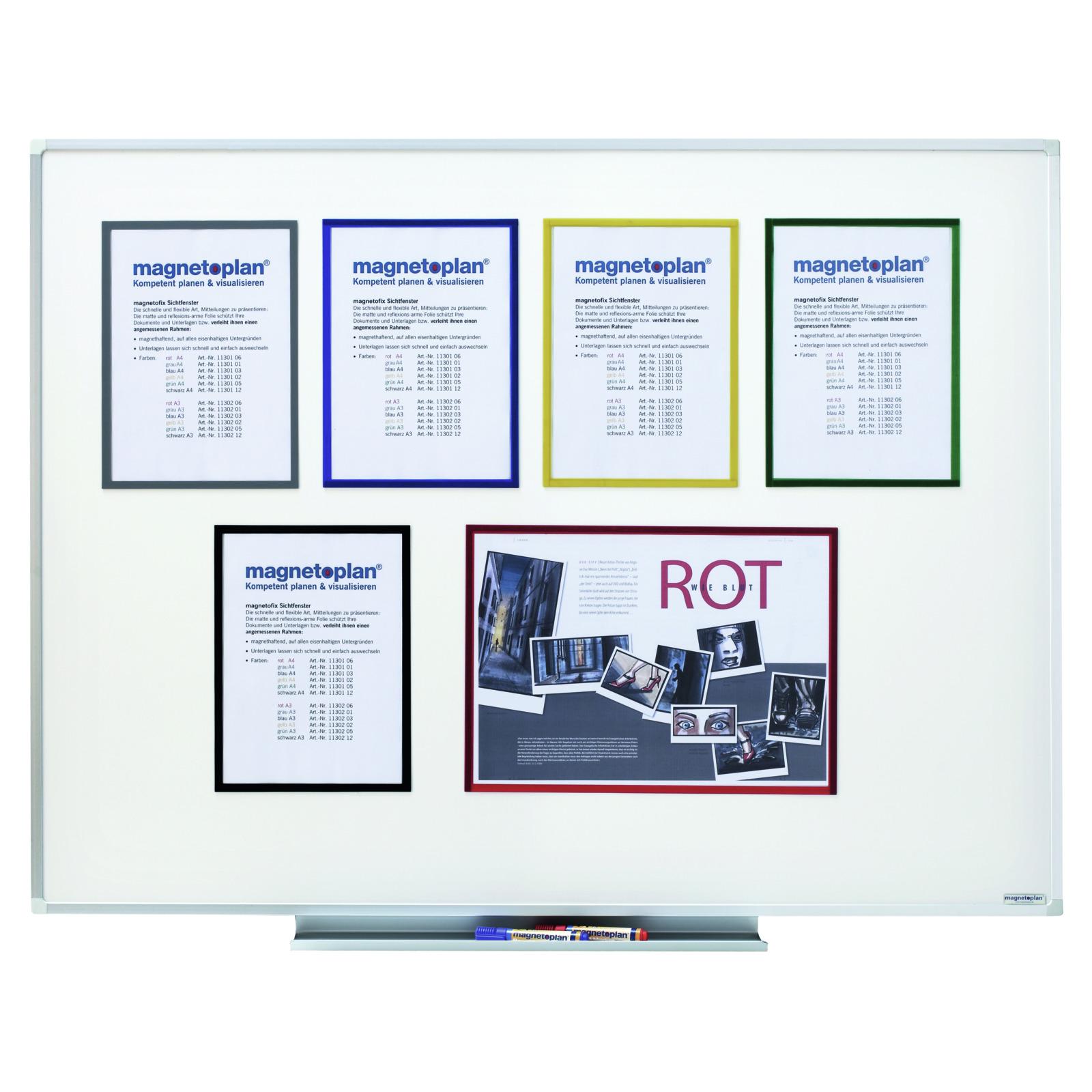 infotasche magnetisch din a4 whiteboards schauk sten infotafeln infoline zill ladenausstattung. Black Bedroom Furniture Sets. Home Design Ideas