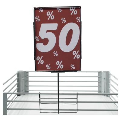 metall plakatrahmen zum aufstecken verchromt plakatst nder plakatrahmen zubeh r. Black Bedroom Furniture Sets. Home Design Ideas