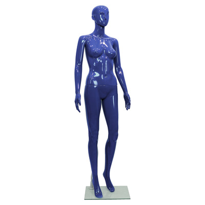 Schaufensterfigur ROBOT Female, blau