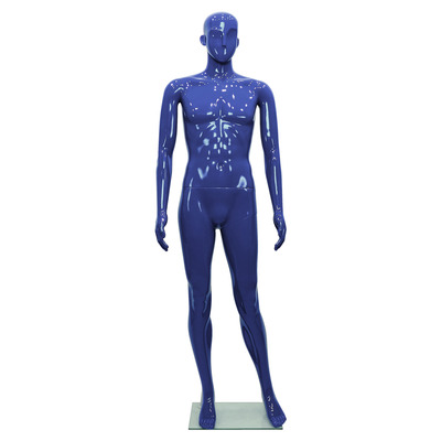 Schaufensterfigur ROBOT Male, blau
