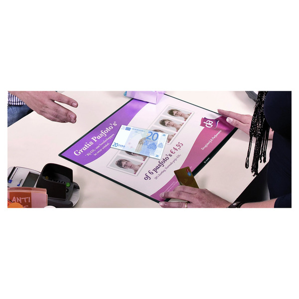 Acrylplatte Mit Echtglasbeschichtung : thekenzubeh r f r die kasse thekenzubeh r f r die kasse kassenbedarf ladenbedarf shop ~ Whattoseeinmadrid.com Haus und Dekorationen