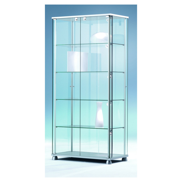 glasvitrine esg glas forum 5 glasvitrine forum vitrinen ladeneinrichtung ladeneinrichtung. Black Bedroom Furniture Sets. Home Design Ideas