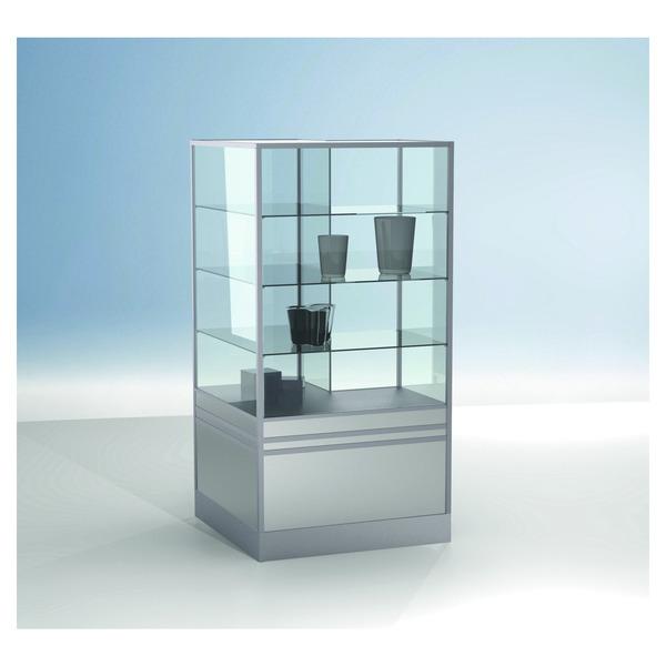 glas eckvitrine trend v7 verkaufstheke glas trend verkaufstheken ladeneinrichtung. Black Bedroom Furniture Sets. Home Design Ideas