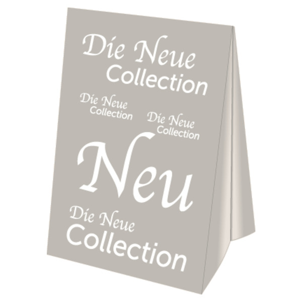 Dachaufsteller Die Neue Collection A3