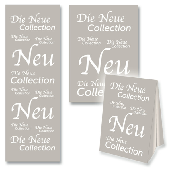 Deko-Sortiment Die Neue Collection