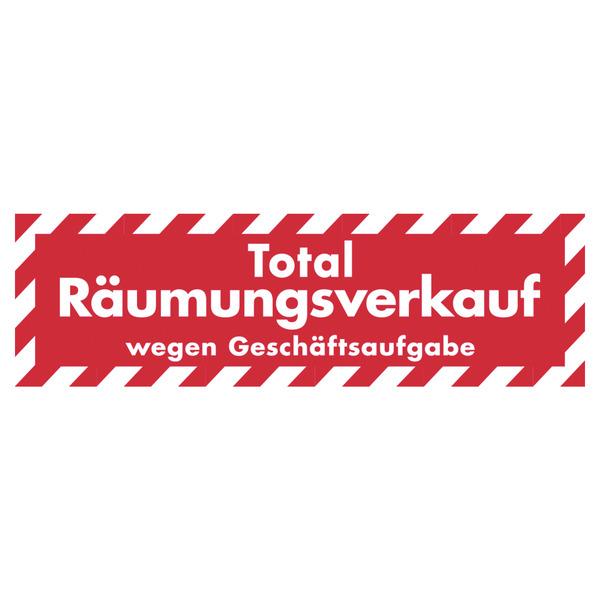 Ankleber Total R Umungsverkauf Wegen Gesch Ftsaufgabe