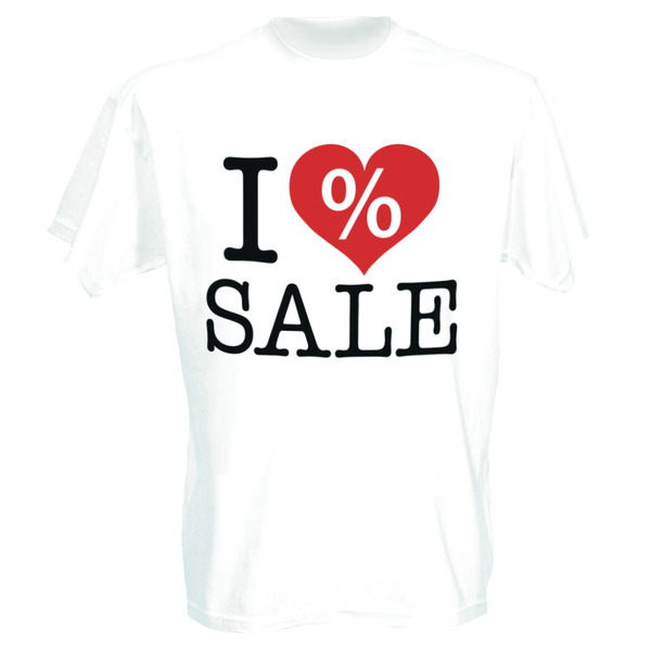T-Shirt I love SALE
