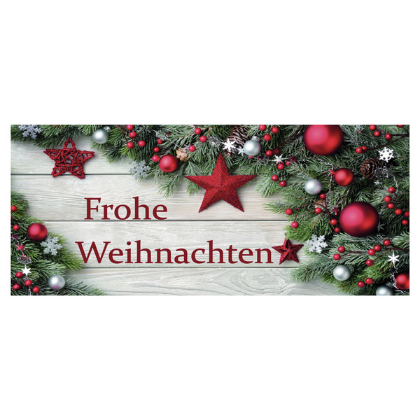 Ankleber frohe weihnachten 70x30 cm schaufensterdekoration weihnachten weihnachten specials - Schaufensterdekoration weihnachten ...