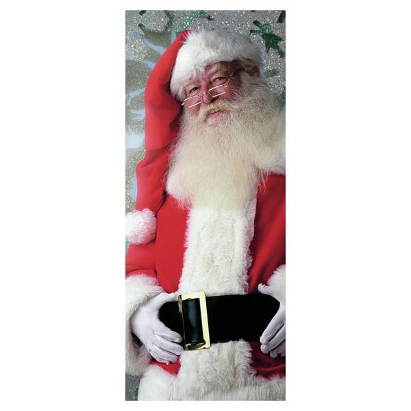 Stoffbanner Santa Claus Schaufensterdekoration