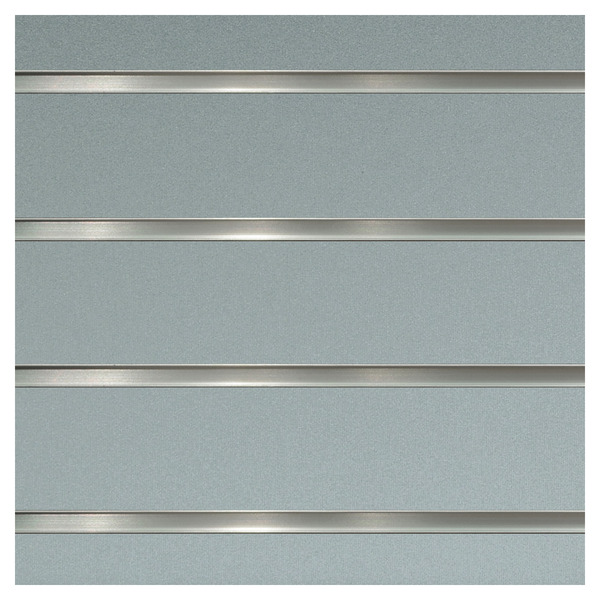 Lamellenwand Spacewall, Silber brillant